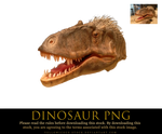 dinosaur png by yellowicous-stock
