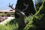 deer statue 1 by yellowicous-stock
