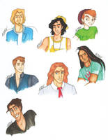 Disney High Guys by skitzzles