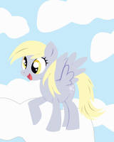 Derpy Hooves vectoring by chkimbrough