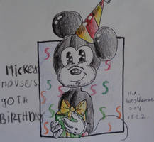 Happy 90th BirthDay Mickey Mouse by westhemime