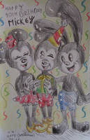 Mickey's 90th Birthday by westhemime