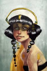 Theodora Portrait by CantoChi