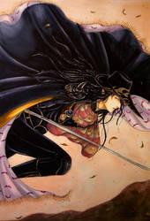 Vampire Hunter D Fan Art - The Hunt by Hallowie29