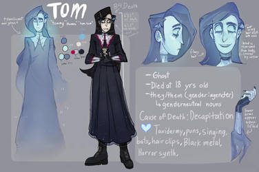TOM CHARACTER REF SHEET by GLIBRIBS