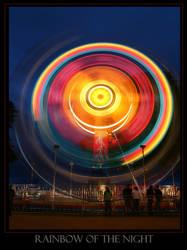 Rainbow of the Night by marrowbones