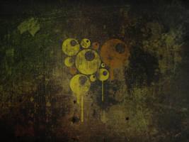 Grunge Balls wallpaper by Dakann