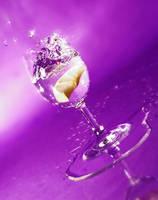 Drop in Violet II by Dakann