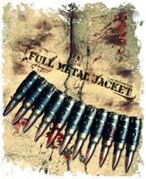 Full Metal Jacket t-shirt logo by Dakann