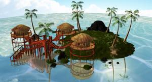 [MMD] Tropical Paradise Stage (DOWLOAD) by NyaLinaa