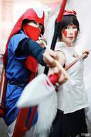 Mononoke Hime by Shioji