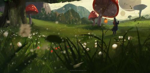 giant Mushroom by Kalberoos