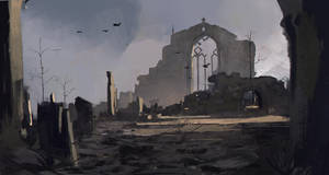 ruin of the church by Kalberoos
