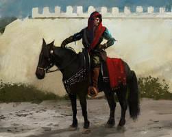 medieval merchant by Kalberoos