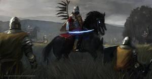 The winged black hussars by Kalberoos