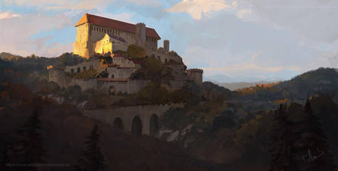 The castle on the hill 2 by Kalberoos