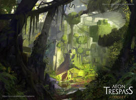 Derezzed Forest by Kalberoos