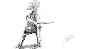 Knigh sketch daily11 by Kalberoos