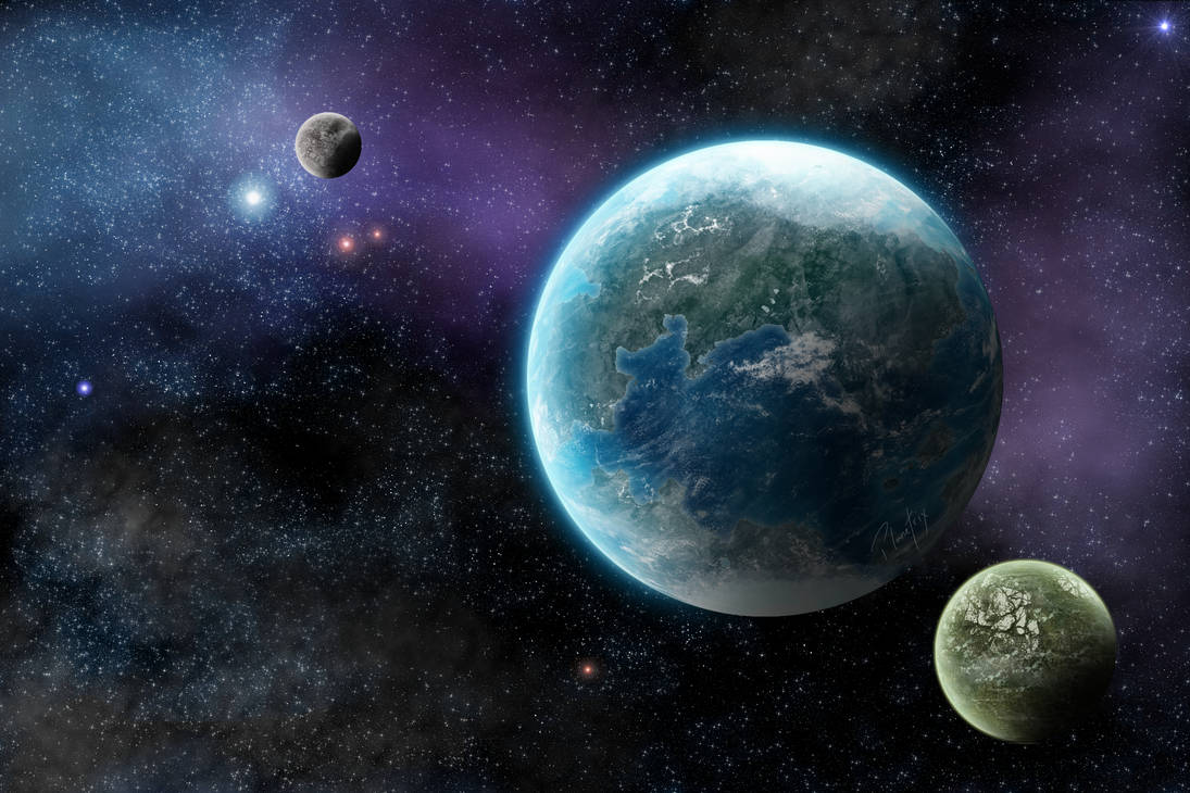 Terran Planet 007: Two Moons by Planetrix