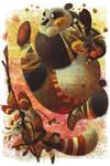Warriors of Peach by galgard