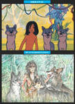 Mowgli and his Brothers (My Interpretation) by Taski-Guru