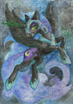 Nightmare Moon by Taski-Guru