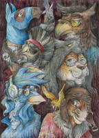 Furry guys by Taski-Guru