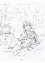 Grrrrr.... (Sketch) by Taski-Guru