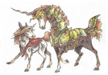 Unicorn Adopt #21 (8$) [SOLD] by Taski-Guru