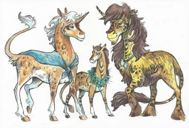 Unicorn (Family) Adopt #27 (10$) [SOLD] by Taski-Guru