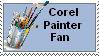 Corel Painter Stamp by Hazel-Almonds