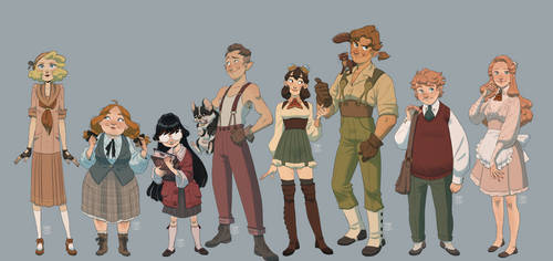 Some ppl by Inimeitiel-chan