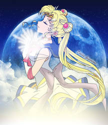 Commission: Super Sailor Moon by Dalila-chan