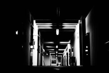 Corridor in NTUA by GlueR