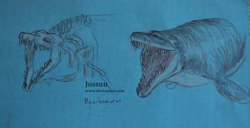Basilosaurus by Jossun