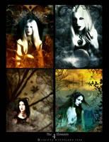 The 4 Elements by Isbikta