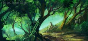 Original: Forest Path by Risachantag