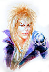 Labyrinth: Jareth by Risachantag