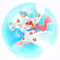 Original: Goldfish Yukata by Risachantag