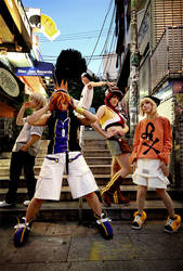 Cosplay: WEWY Group Cover Shot by Risachantag
