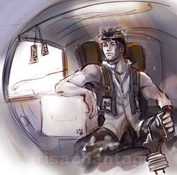 Pilot dude by Risachantag