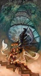 Original: The Spiral Staircase by Risachantag