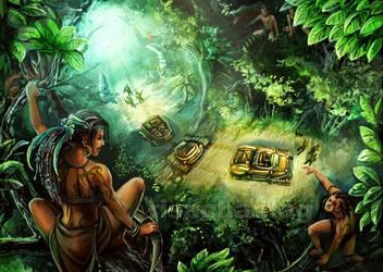Original: Trespassers by Risachantag