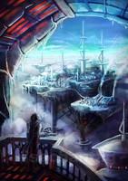 Original: Ice Islands by Risachantag