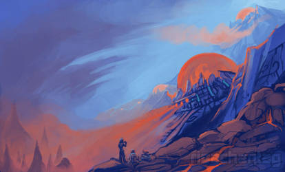 Original: Sealed Volcano by Risachantag