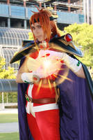 Cosplay: Lina Inverse Magic by Risachantag