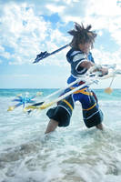 CosPhoto: Sora Duel Wielding by Risachantag