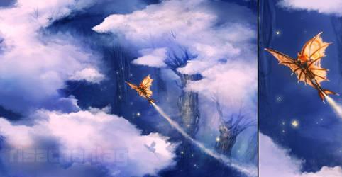 Original: Cloud Trees by Risachantag