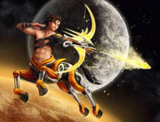 Mecha Sagittarius by Risachantag