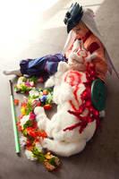 Okami: Waka and Amaterasu by Risachantag